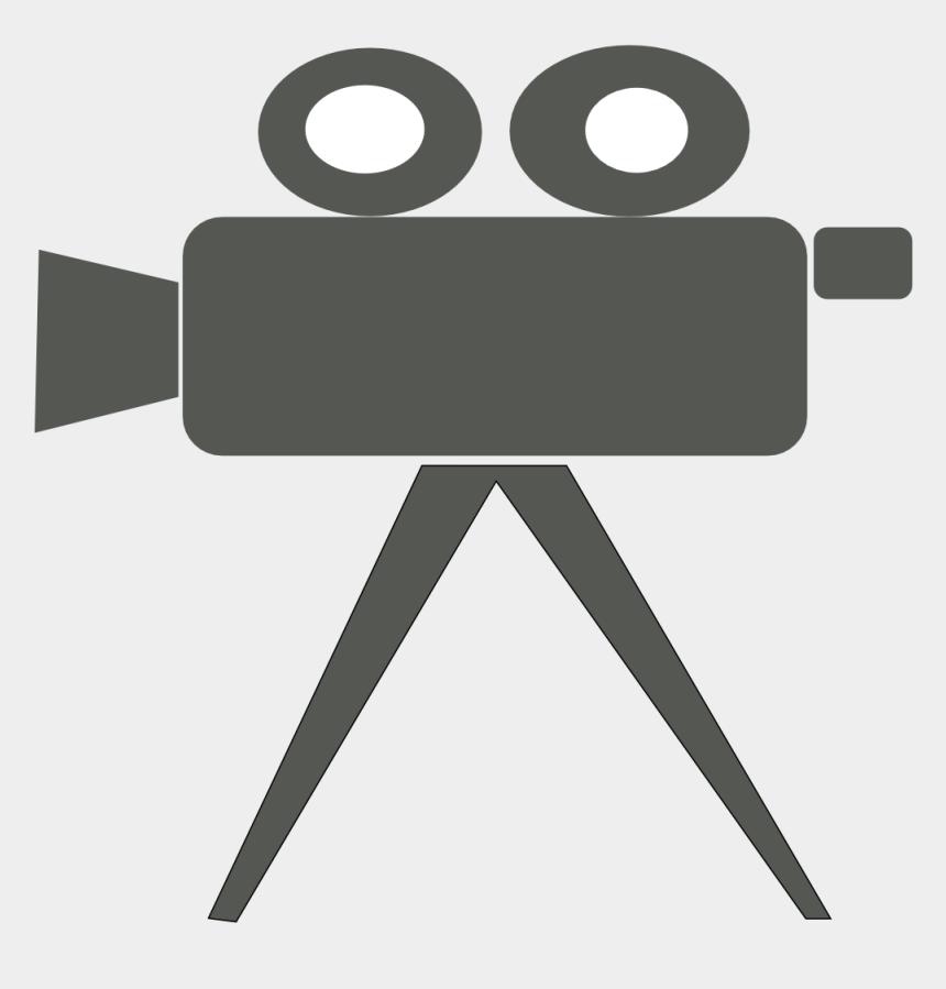 video camera clip art, Cartoons - Video Camera On Tripod Clipart - Film