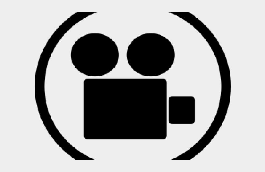 video camera clip art, Cartoons - Ice Cream Cone Clipart Black And White - Circle