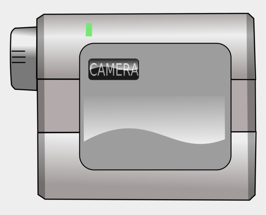video camera clip art, Cartoons - Camera Clipart Png - Lecteur Video Minidv