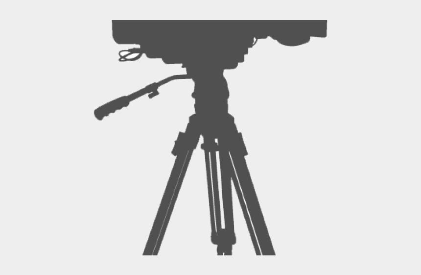 video camera clip art, Cartoons - Video Camera Clipart - Video Camera On Tripod Png