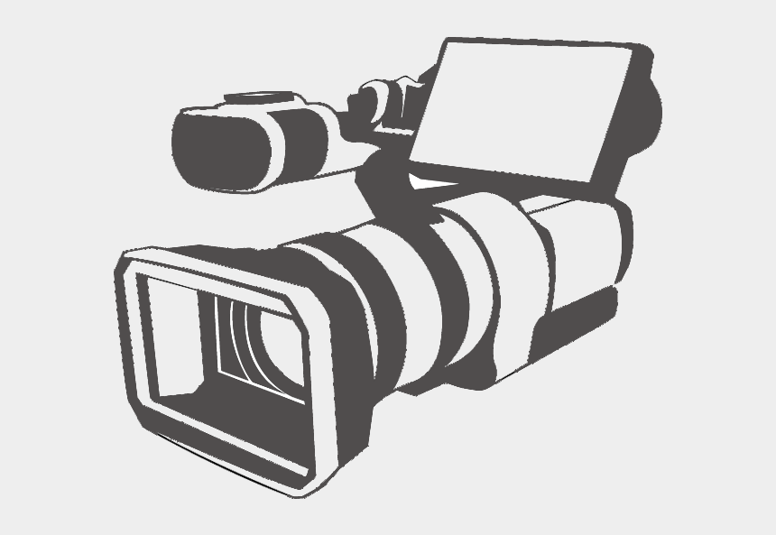 video camera clip art, Cartoons - Vector Video Camera Logo - Video Camera Logo