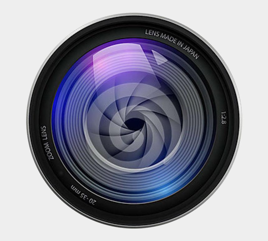 video camera clip art, Cartoons - Png File Name Camera Lens Image Memorable Ⓒ - Camera Lense Logo Hd