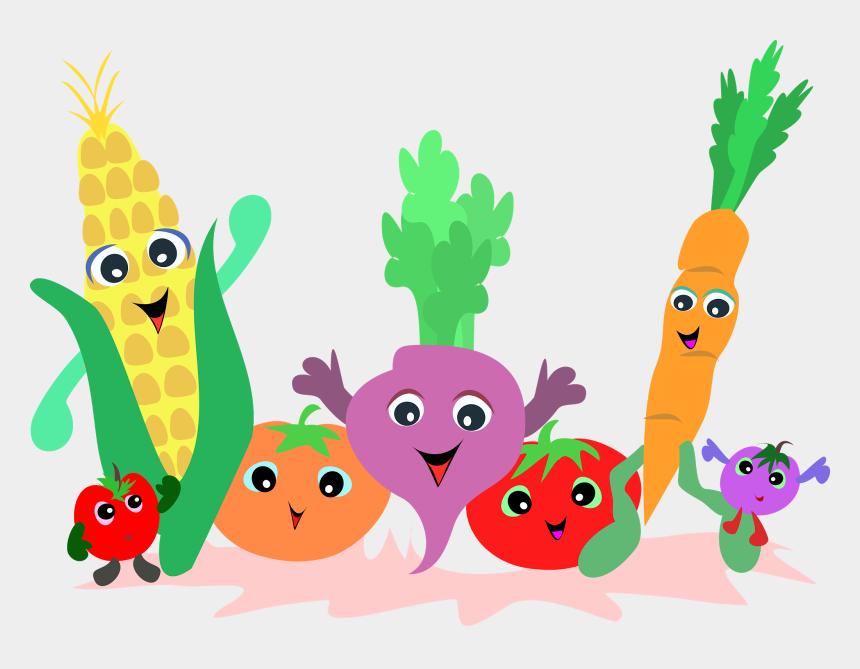 healthy clipart, Cartoons - Nutrition Clipart - Month - Fruit And Vegetables Clipart