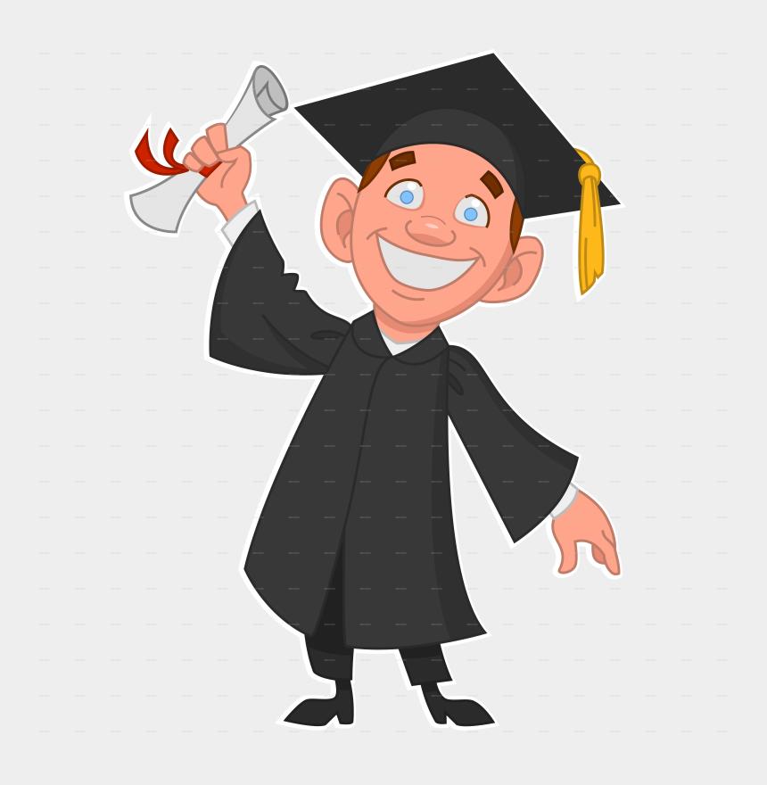 graduate clipart, Cartoons - College Graduation Clipart - Graduate Png