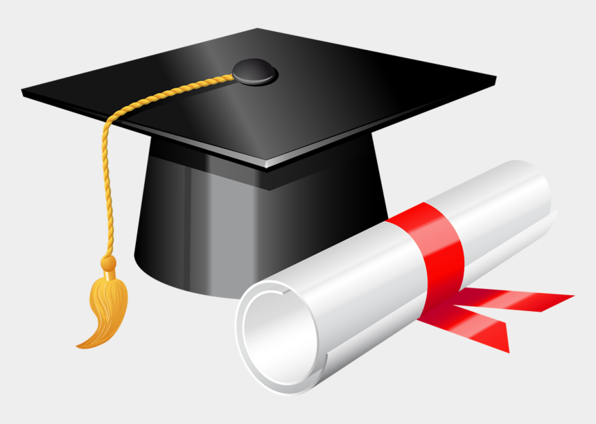 graduate clipart, Cartoons - Graduate Clipart Promotion - Graduation Cap And Diploma Png
