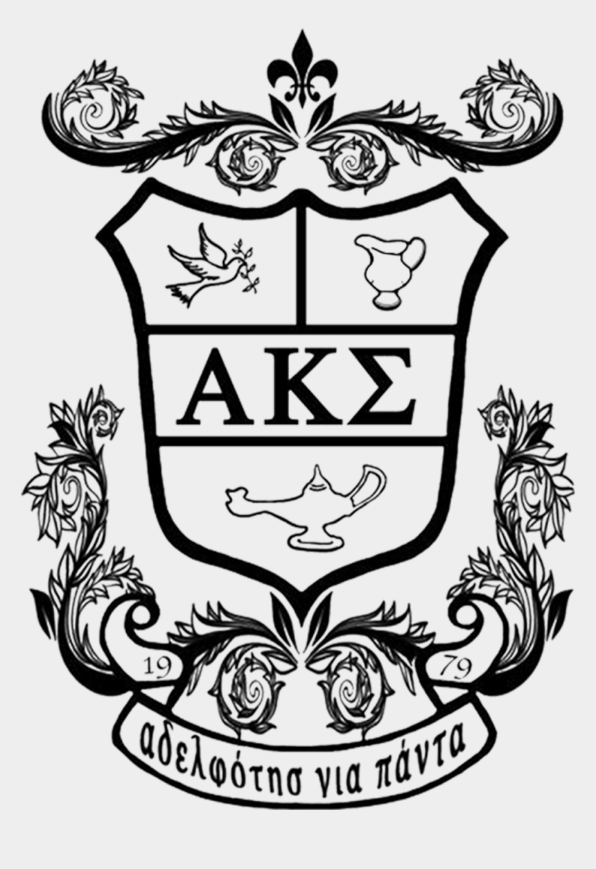 alpha kappa alpha sorority clipart, Cartoons - For 40 Years, The Sisters Of Alpha Kappa Sigma Service - Crest