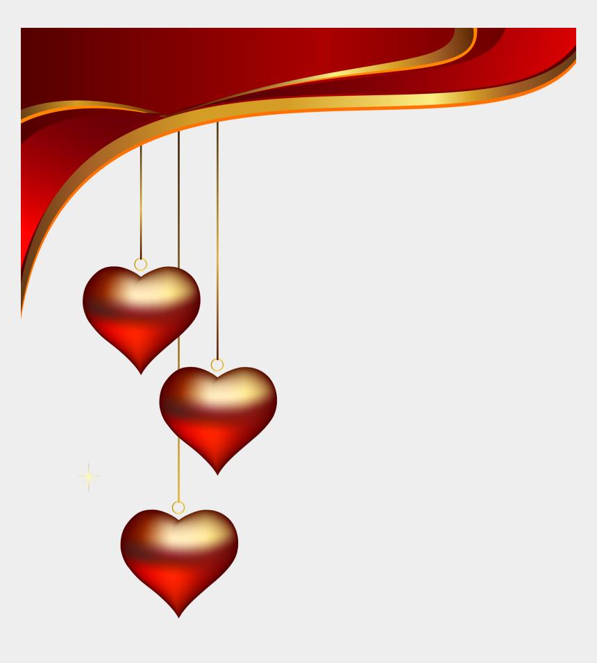 valentin clipart, Cartoons - Valentine Heart Pictures, Clean Heart, Border Design, - Decoration Clipart Png