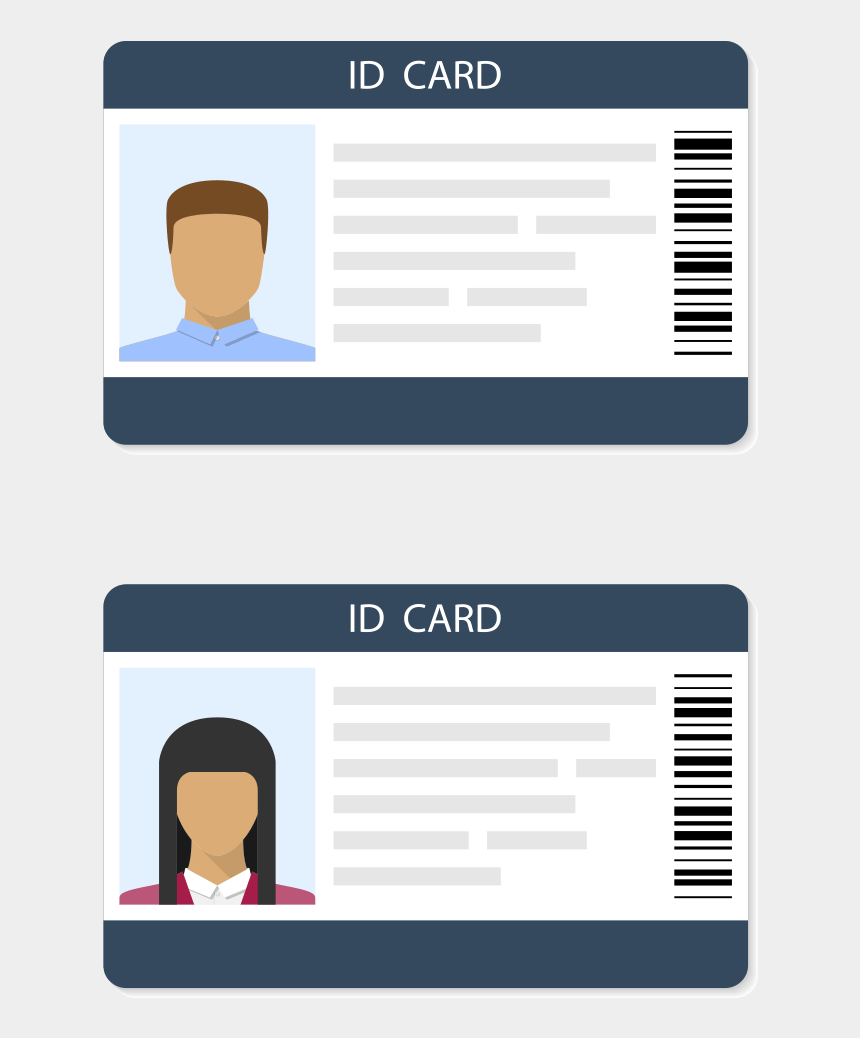 social security card clipart, Cartoons - Guard Registration Identification Cards In Lancaster,