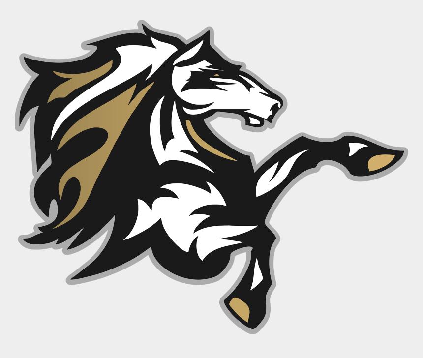 mustang logo clipart, Cartoons - Horse Head Vector Art Illustration - Stallion Vector