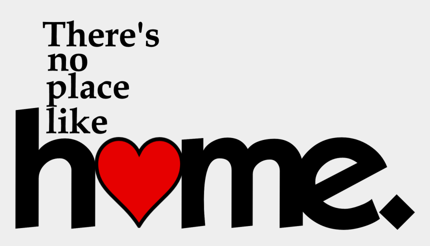 there's no place like home clipart, Cartoons - Home Word Png - Miss Home So Much