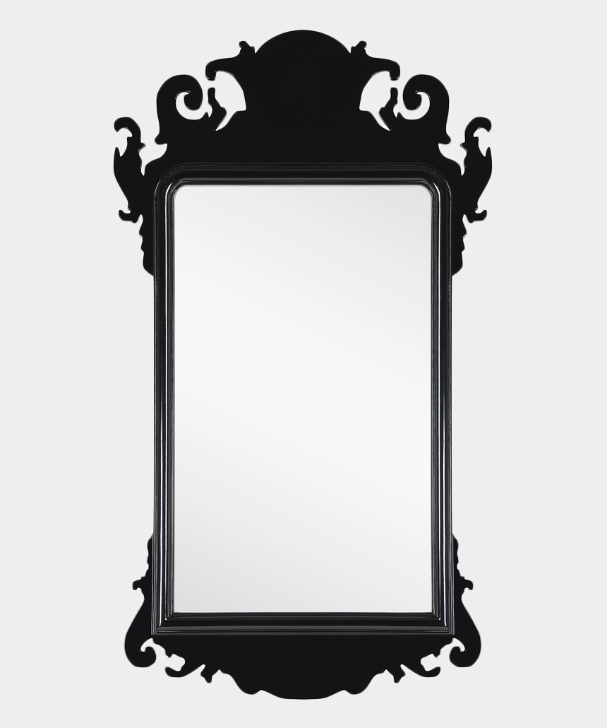 there's no place like home clipart, Cartoons - Black Lacquer Chippendale Mirror - Mirror