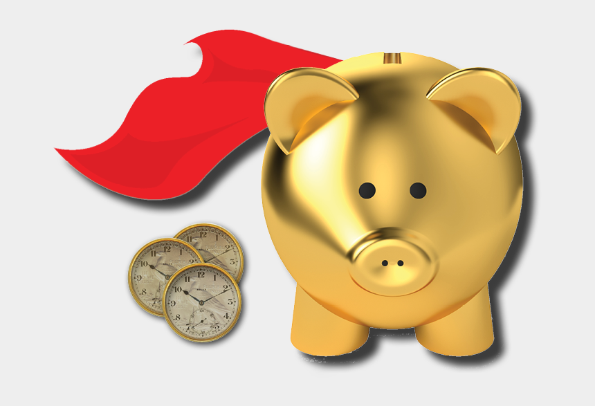 there's no place like home clipart, Cartoons - Home Of Micro Timebank - Piggy Bank