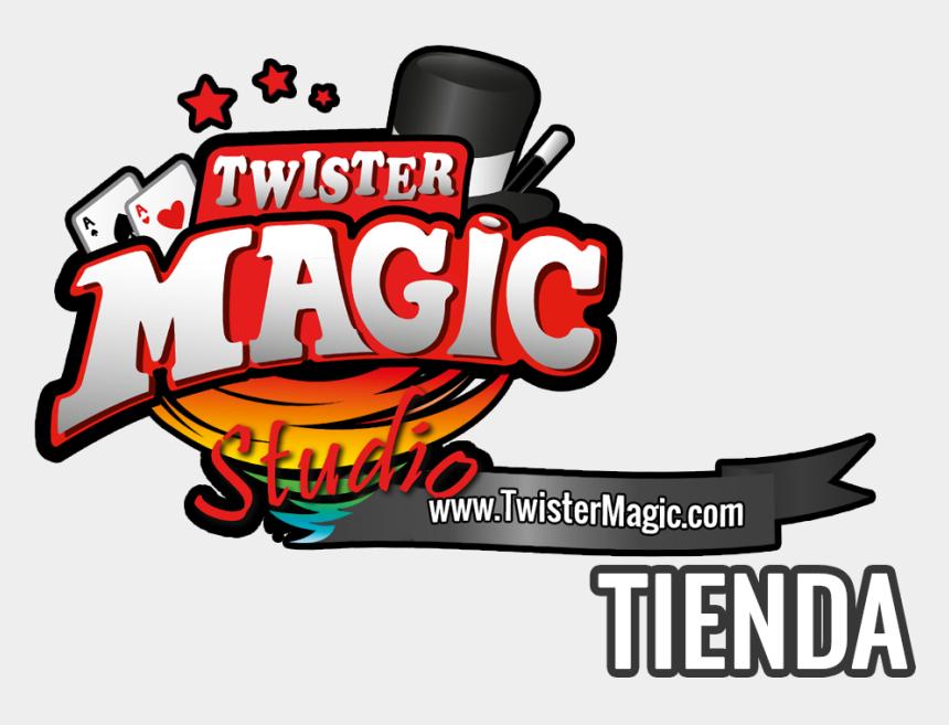 la tienda clipart, Cartoons - Bienvenidos A Twister Magic, La Tienda De Magia Más - Logo De Tiendas De Magia