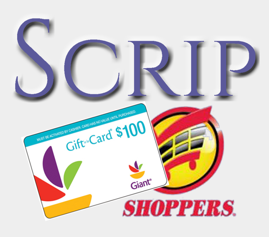 "annie armstrong clipart, Cartoons - Scrip ""scrip"" Gift Certificates Are Redeemable For - Shoppers Food & Pharmacy"