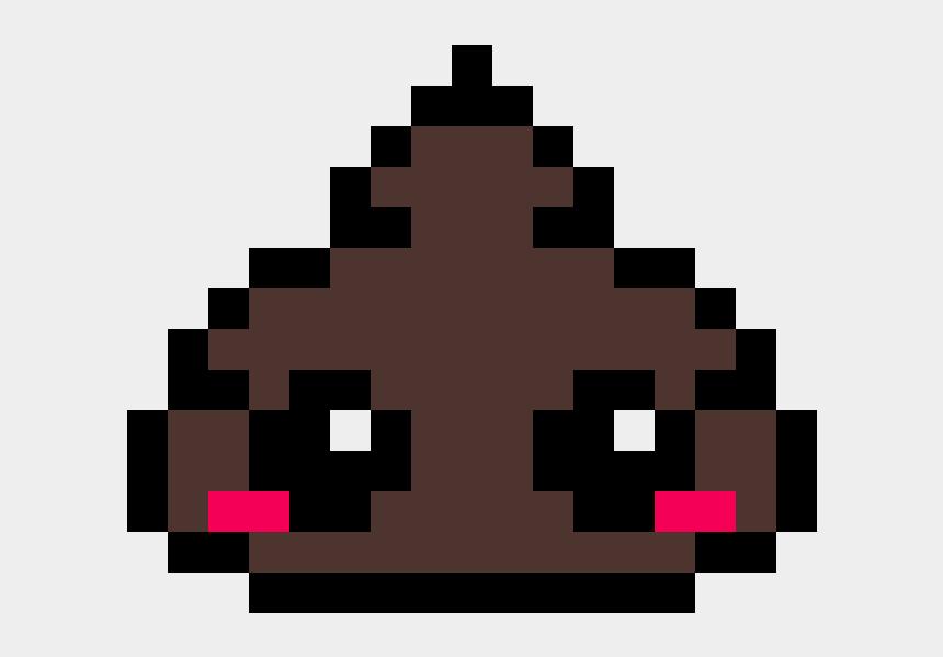Cute Poop Emoji Poop Emoji Pixel Art Cliparts Cartoons