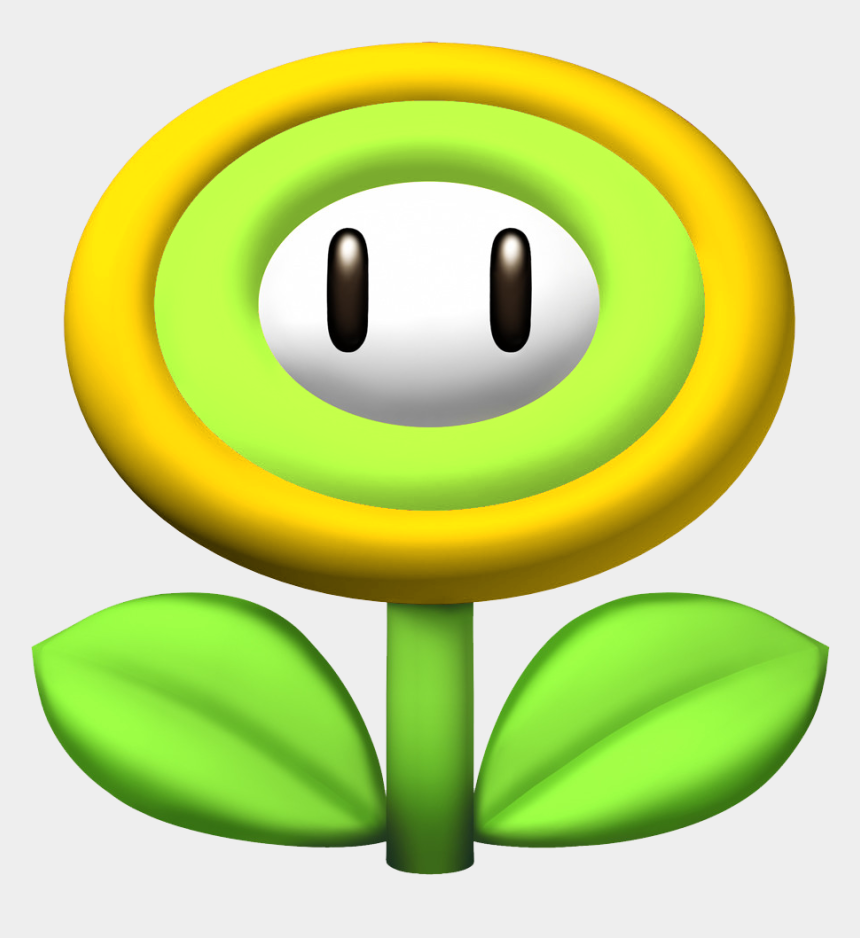 power up clipart, Cartoons - Electricity Clipart Thunder - Mario Power Ups Flower