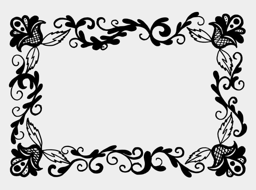 rectangular frame clipart, Cartoons - 3347 × 2343 Px - Vector Border Design Png