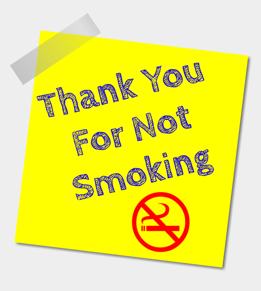 dont touch clipart, Cartoons - No Smoking Thanks Stop Smoking Png Image - Smoking Cessation