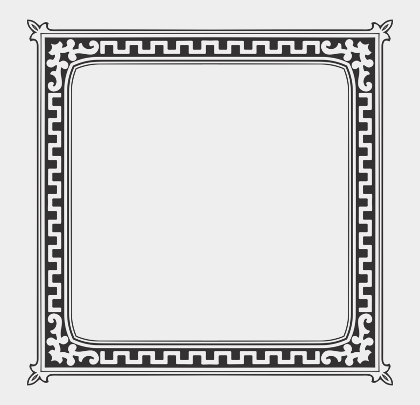 square vintage frame clipart, Cartoons - Picture Frames Drawing Paper Painting - Page Frame