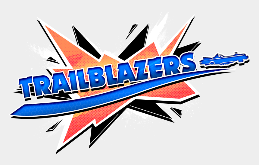 start your engines clipart, Cartoons - Start Your Engines Trailblazers Coming Soon To Switch - Trailblazers Game Logo Png