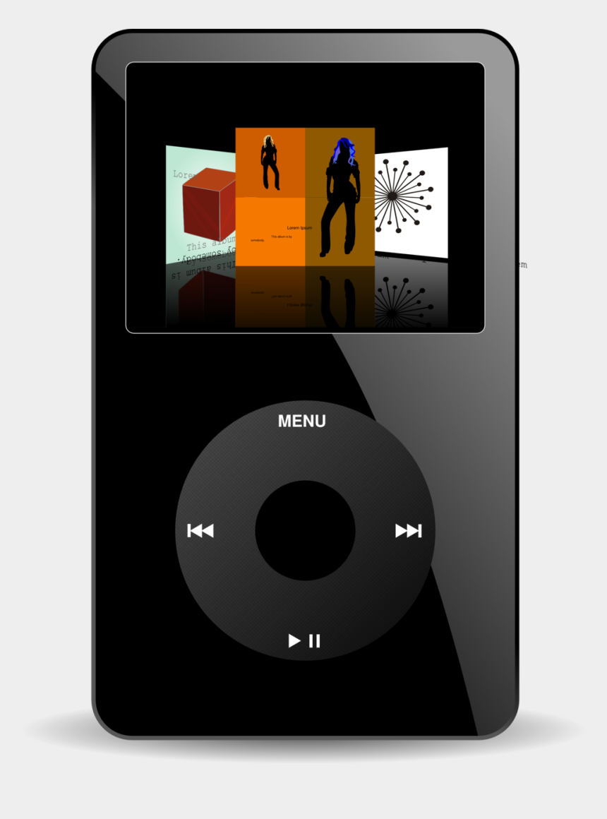 mp3 clipart, Cartoons - Ipod Shuffle Portable Media Player Mp3 Players Ipod - Ipod Portable Media Player Png