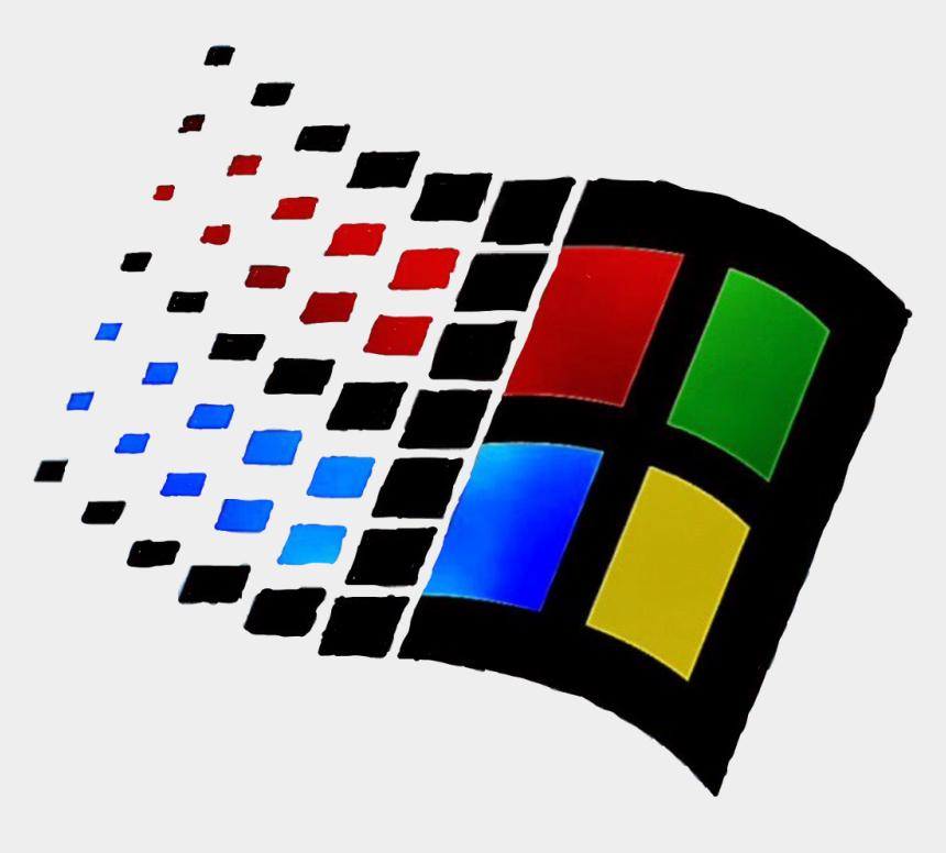 1990s clipart, Cartoons - #windows #windows95 #95 #retro #90s #1990s #nostalgia - Windows 95