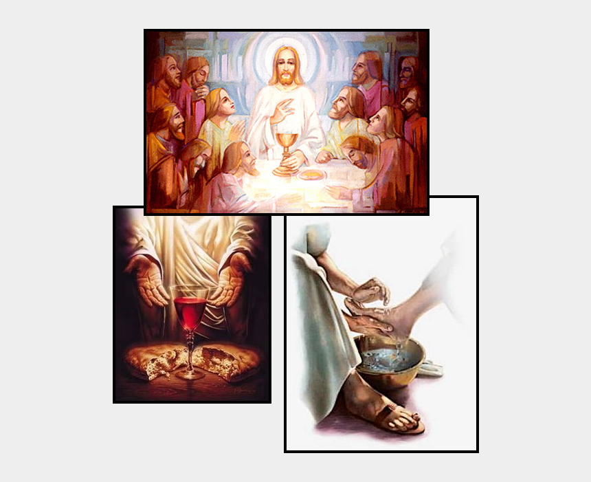 jesus washing feet clipart, Cartoons - On The Thursday Before Easter That Commemorates The - Thinking Like A Servant