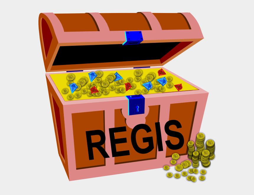 online auction clipart, Cartoons - Auction Gold Clip Art - Treasure Chest Clip Art