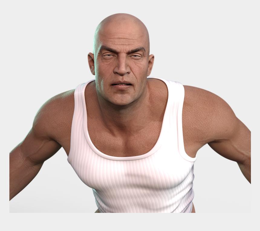 bald men clipart, Cartoons - Man, Face, Portrait, Head, Bald Head, Person, Old Man - Bald Man Png