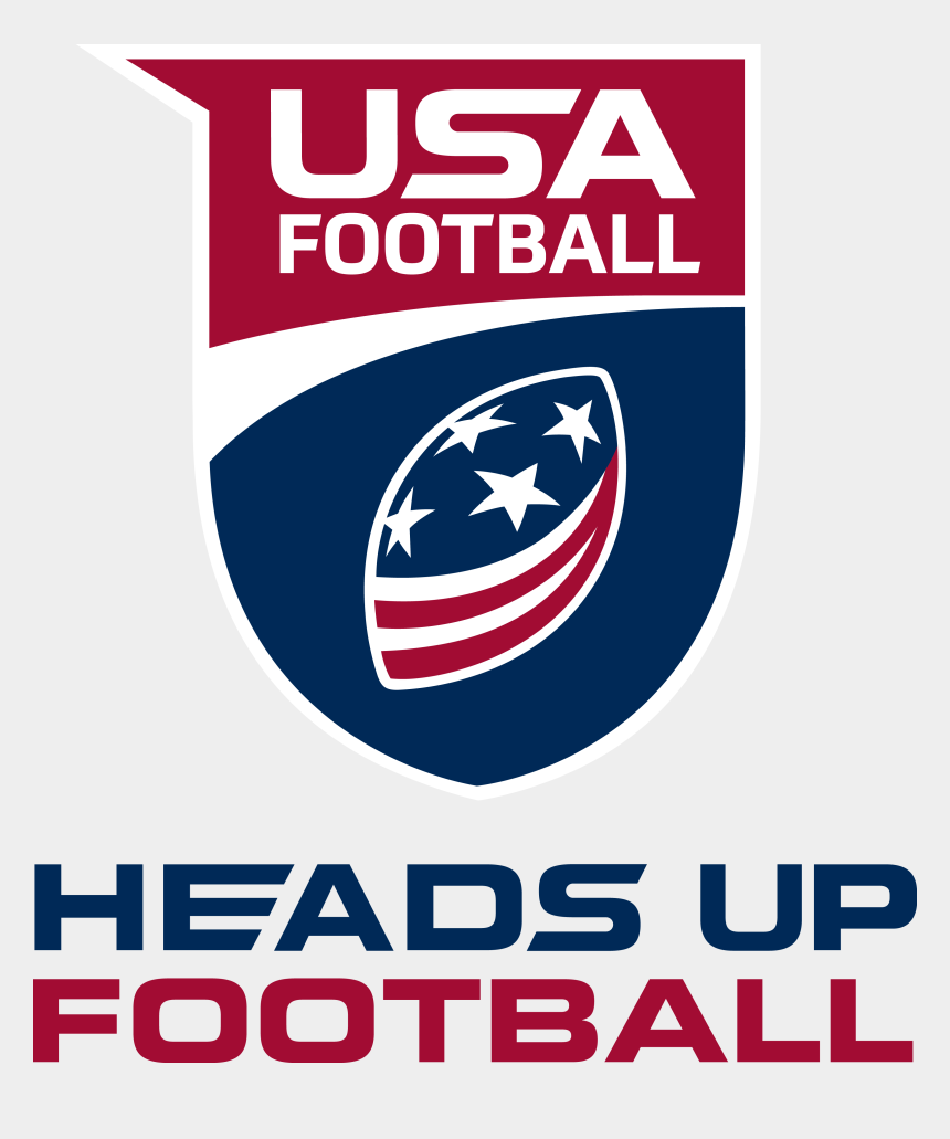 heads up clipart, Cartoons - So The Ayl Has Affiliated With Usa Football And Adopted - Usa Football Heads Up