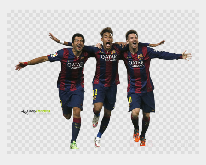 messi clipart, Cartoons - Messi Suarez Neymar Png Clipart Fc Barcelona Football - Messi Suarez Neymar Png