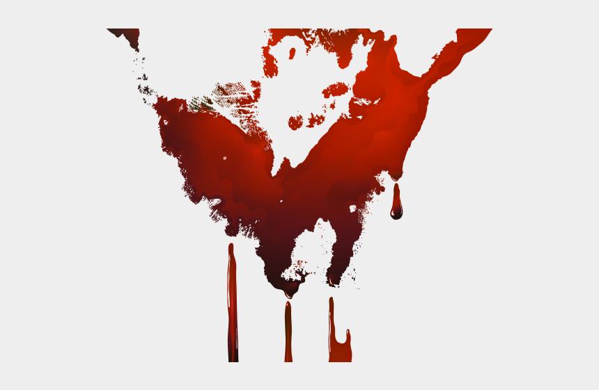 stain clipart, Cartoons - Blood Clipart Handprint - Blood Hand Transparent Png