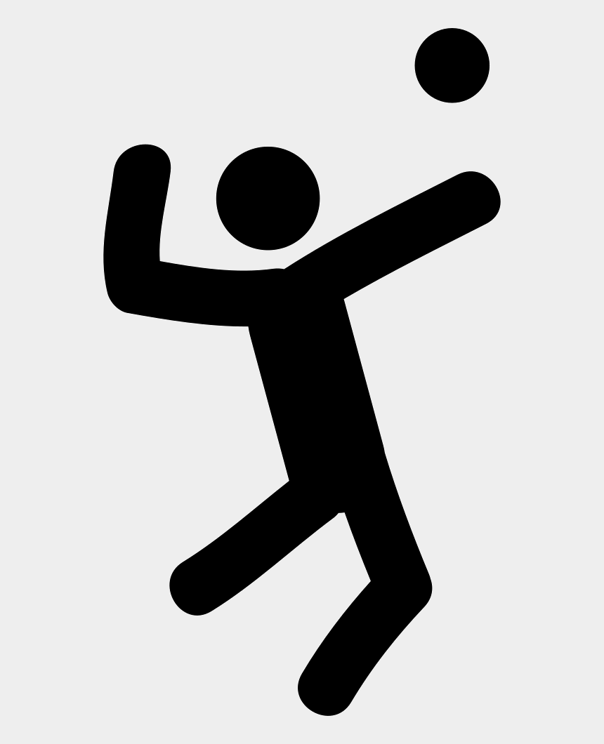 people playing volleyball clipart, Cartoons - Volleyball Player Comments - Volleyball Player Icon Png