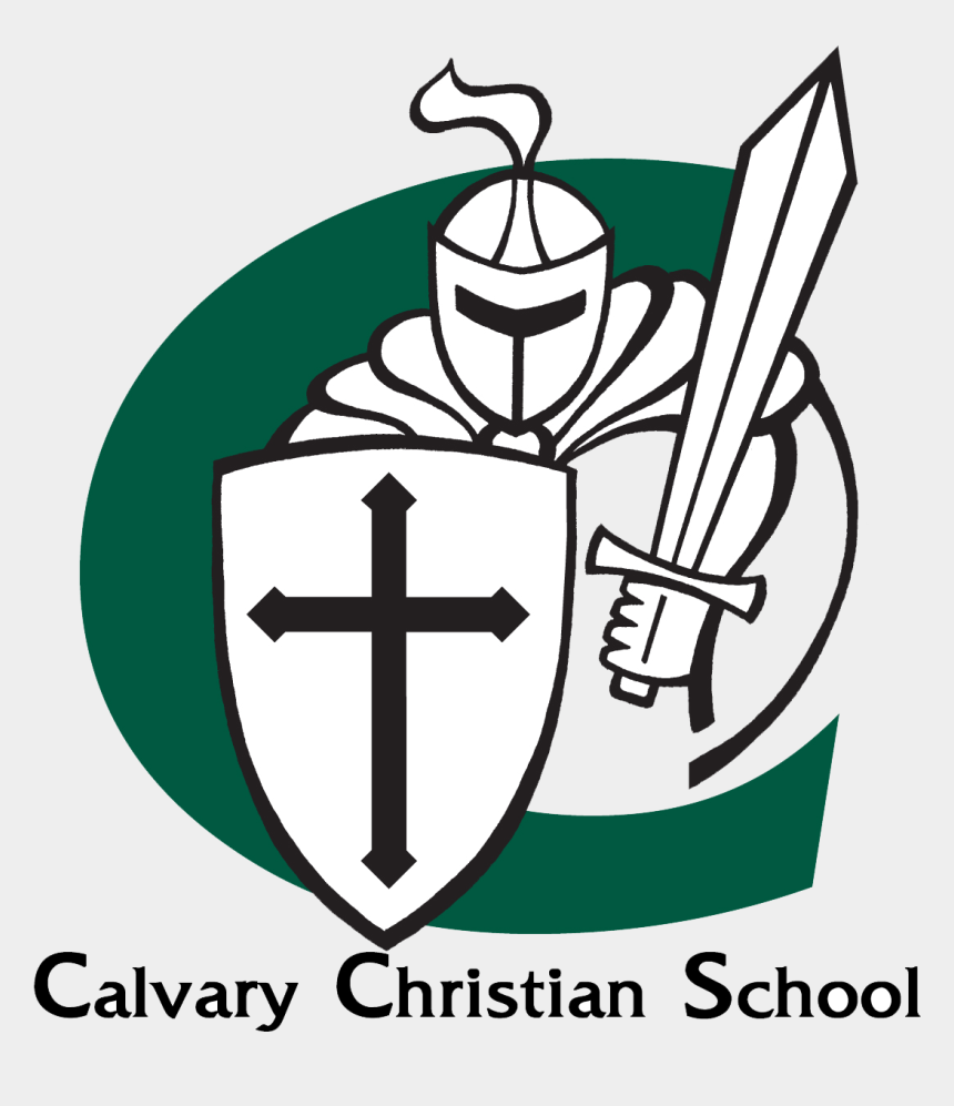 church leadership clipart, Cartoons - Calvary Christian Football, Jd Murray - Calvary Christian School Logo