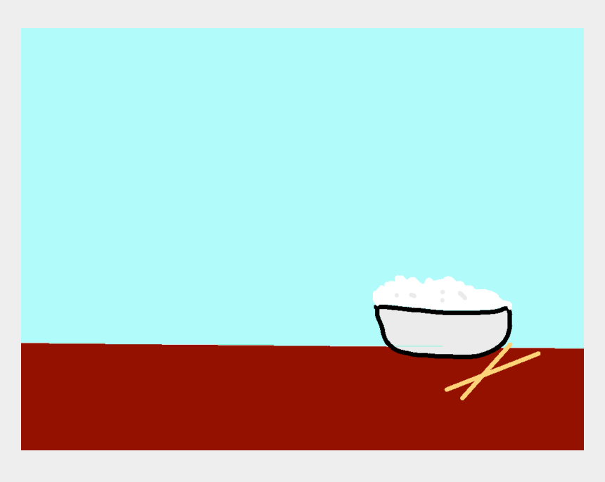steaming bowl of soup clipart, Cartoons - Background Scene - Drawing - Steamed Rice