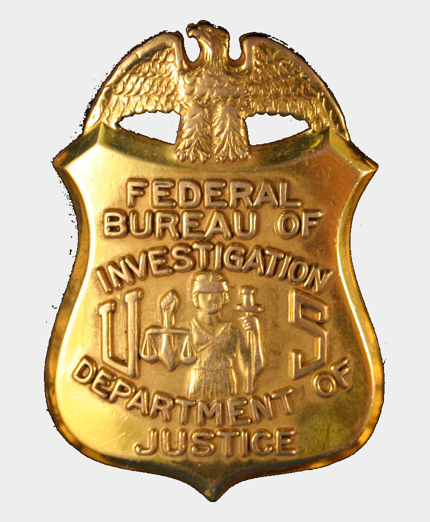 fbi clipart, Cartoons - A 'human Wall' Protects Innocents From Our Hacking - Federal Bureau Of Investigation Badge