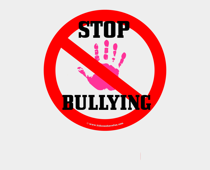 stop bullying clipart, Cartoons - Stop Hand Pink Iron - Stop Bullying Hand