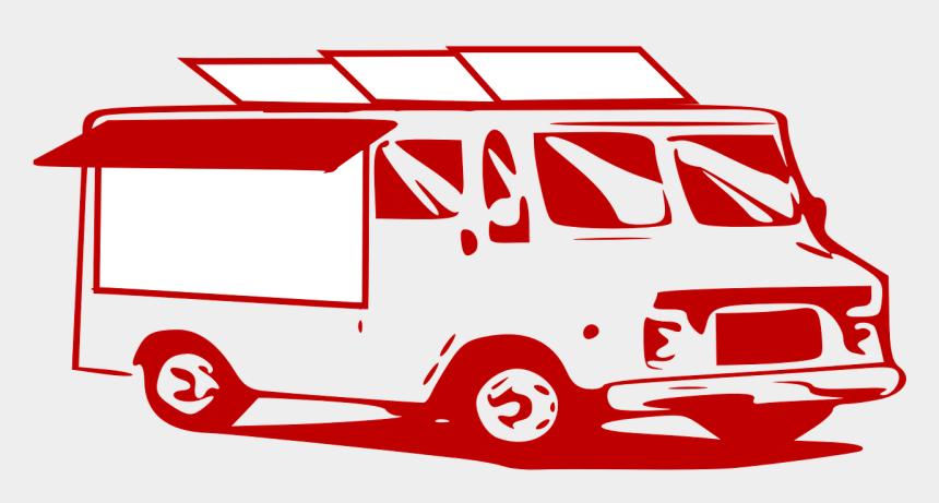 red van clipart, Cartoons - Mobile Van, Service, Delivery, Truck - Delivery Truck Clip Art