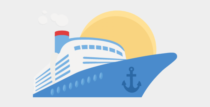 family cruise clipart, Cartoons - Cruise Ship Clipart Transparent