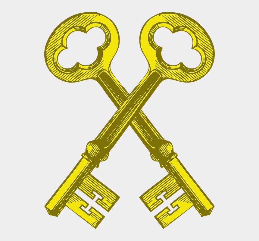 Keys, Vintage Key, Lock, Old, Antique - Skeleton Key Clip ...