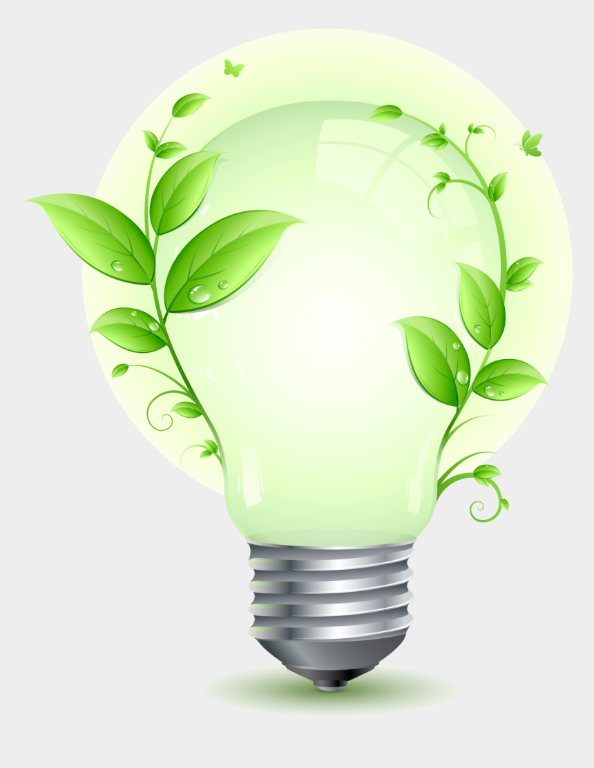 energy conservation clipart, Cartoons - Save Electricity Png Image - Eco Friendly Led Light Bulbs