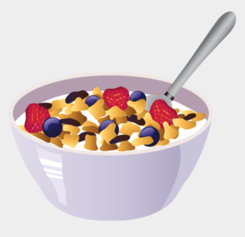bowl of food clipart, Cartoons - #cereal #colorful #bowl #food #breakfast - Food Vector Free Download