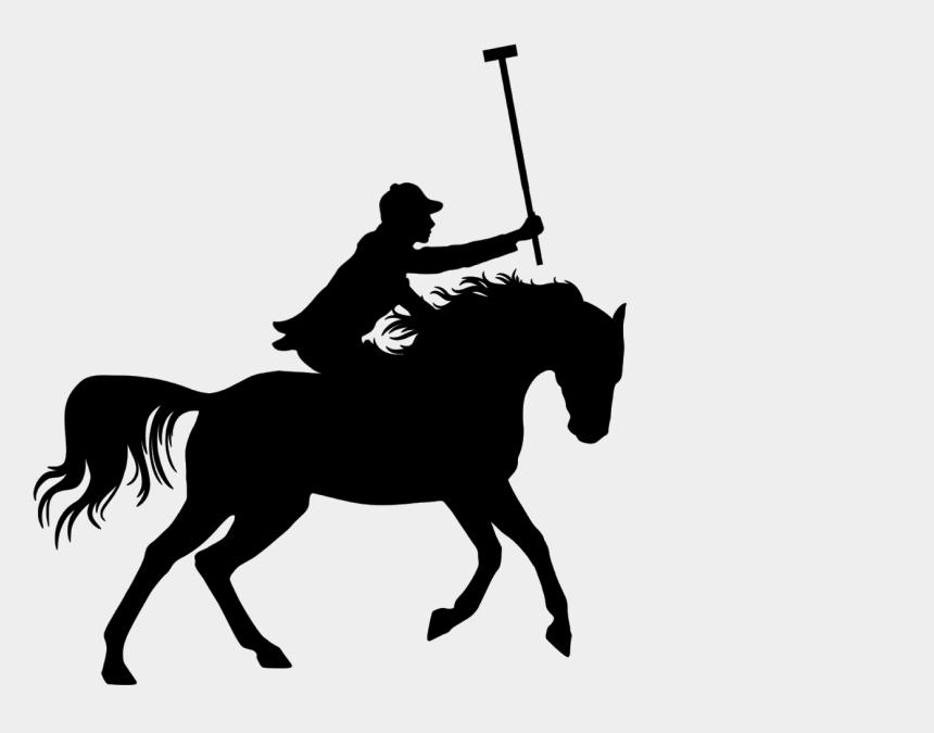 polo horse clipart, Cartoons - Download Free Illustrations Of Polo, Horse, Player, - Deporte En Caballo Silueta