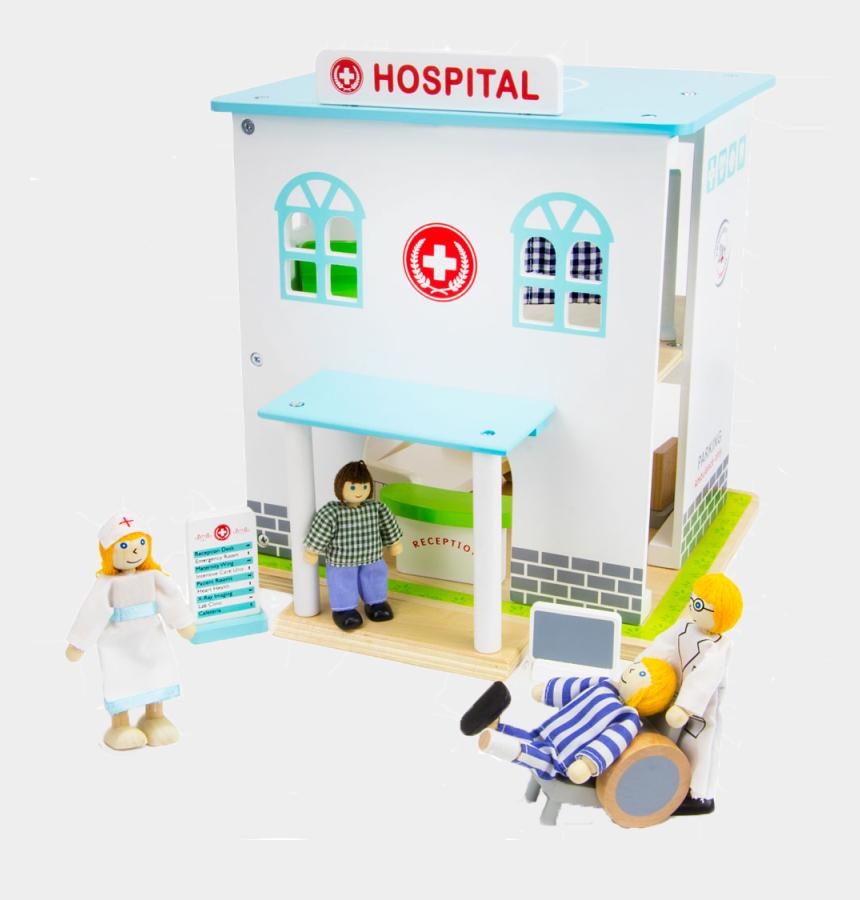 man in hospital bed clipart, Cartoons - 14 Piece Hospital Set - Hospital Toys