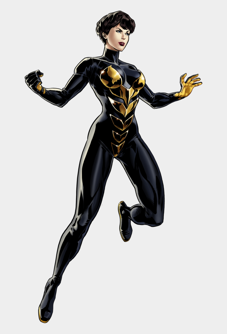 the avengers clipart, Cartoons - #wasp #clip #art - Wasp Marvel Avengers Alliance