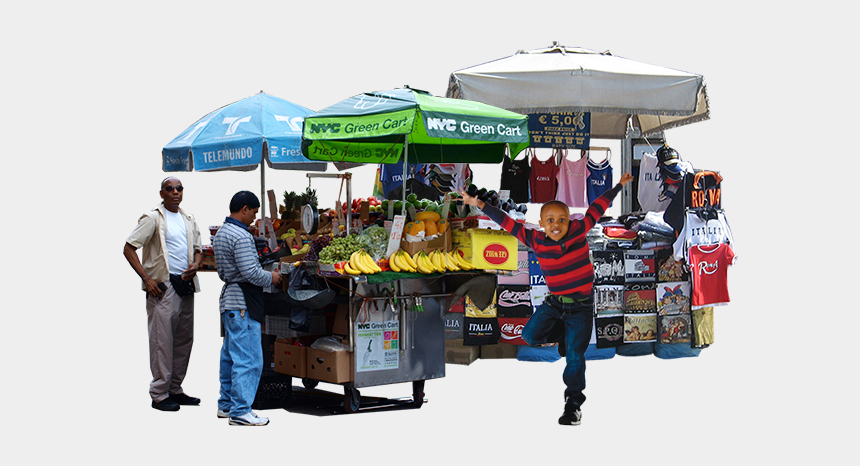food vendor clipart, Cartoons - Street Vendor Png Transparent Street Vendor - Street Food People Png