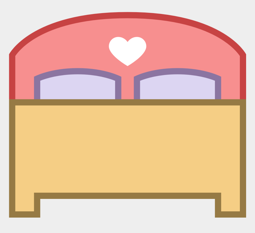 double room clipart, Cartoons - Bed Icon Png - Make The Bed Icon