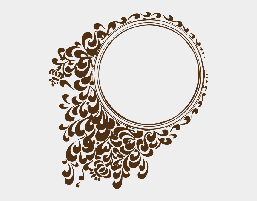 curly design clipart, Cartoons - Vintage Clip Art Design - Design Circle