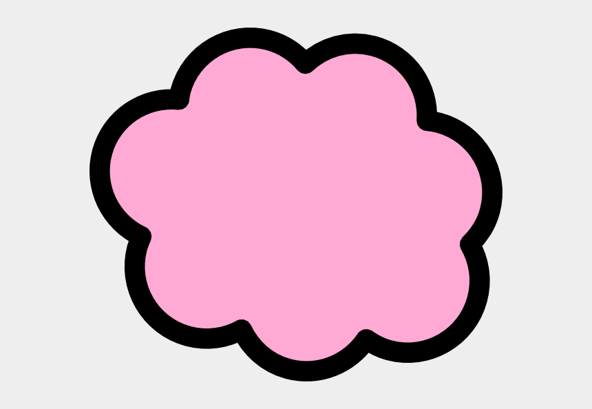 pink clouds clipart, Cartoons - Light Pink Clip Art - Cloud Clip Art