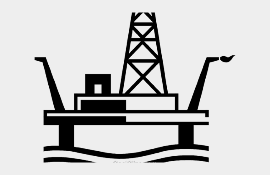 oil drilling clipart, Cartoons - Oil Rig Clipart Transparent - Offshore Oil Rig Clipart